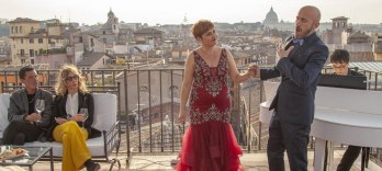 Rooftop Bar Opera Show: The Great Beauty in Rome